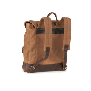 Burke & Wills Dry Wax Cotton - World Backpack