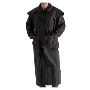 Burke & Wills Oilskin Clothing - Balranald Full Length Coat