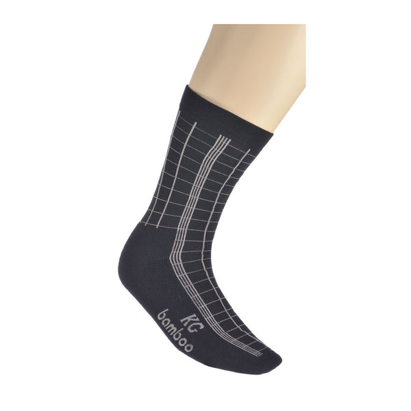 KG-Bamboo Men's Business Sock - CHECK