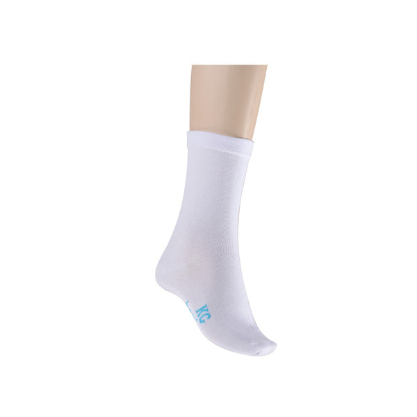 KG-Bamboo Women's Crew Sock - WHITE