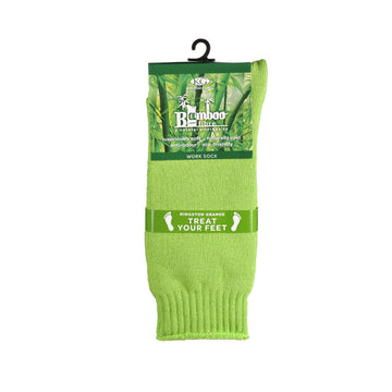 KG-Bamboo Men's Work Sock - GREEN