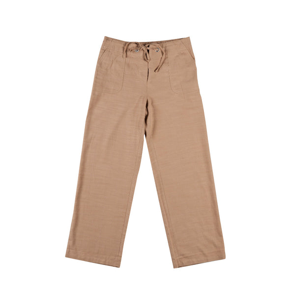 KG-Bamboo Women's Beach Pant - LATTE