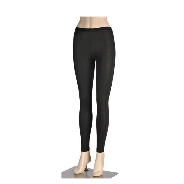 KG-Bamboo Women's Full Leggings - BLACK