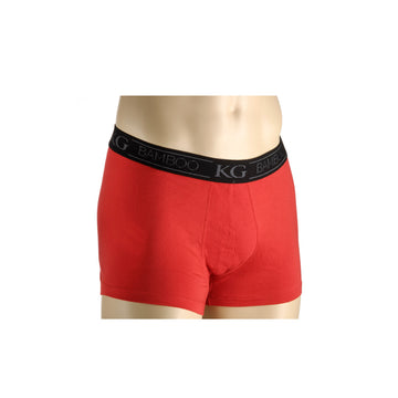 KG-Bamboo Men's Underwear - BOXER - RED