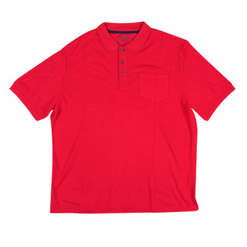 KG-Bamboo Fibre Men's Polo - POLO RED