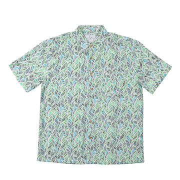 KG-Bamboo Fibre Men's Shirt - GREEN LEAF