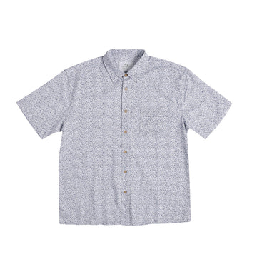 KG-Bamboo Fibre Men's Shirt - NAVY MOTIF