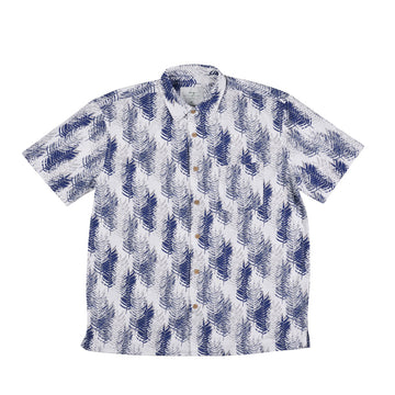 KG-Bamboo Fibre Men's Shirt - NAVY PINES