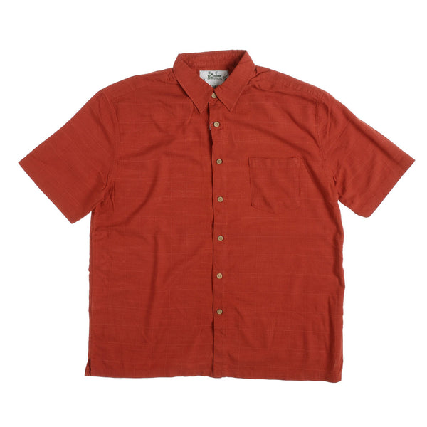 KG-Bamboo Fibre Men's Shirt - RUST