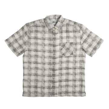 KG-Bamboo Fibre Men's Shirt - SKETCH CHECK