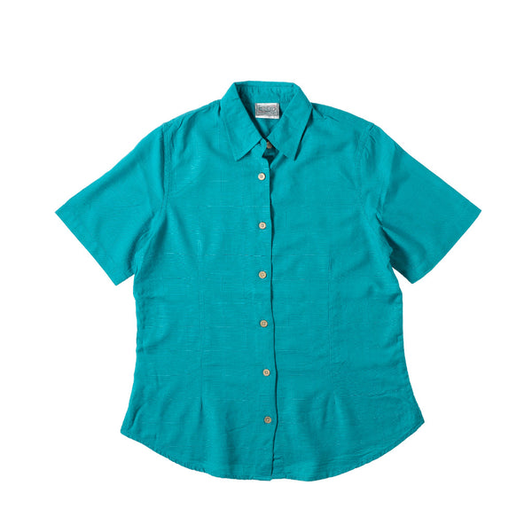 KG-Bamboo Women's short sleeve - TEAL