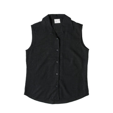 KG-Bamboo Women's Sleeveless - BLACK