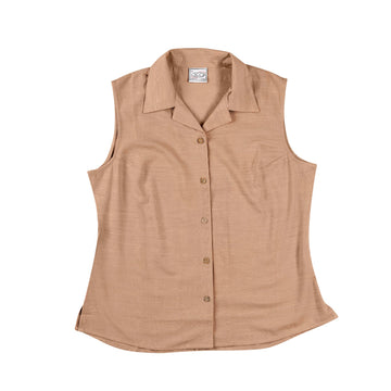 KG-Bamboo Women's Sleeveless - LATTE