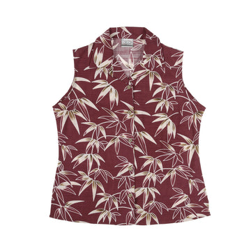 KG-Bamboo Women's Sleeveless - RED FERN