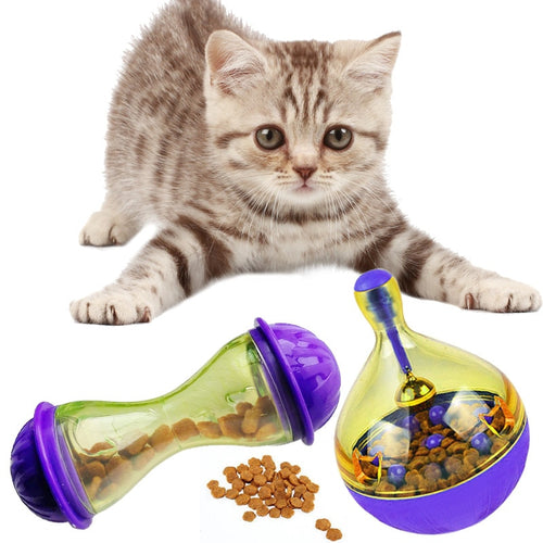 Pet Fun Bowl Feeder Tumbler Toy