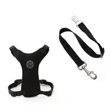 Load image into Gallery viewer, Pet Collar Leash Vest Leash With Car Connectors