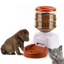 Load image into Gallery viewer, 5.5L Automatic Pet Feeder with Voice Message Recording LCD Screen