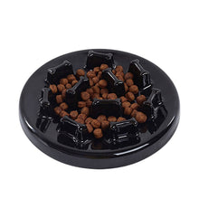 Load image into Gallery viewer, Pet Slow Feeder Bowl Ceramic Food Bowl