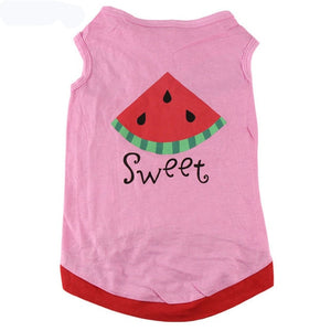 Cute Printed Summer Pet T-shirt