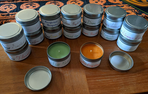 4 oz. Tin Candle - test scents