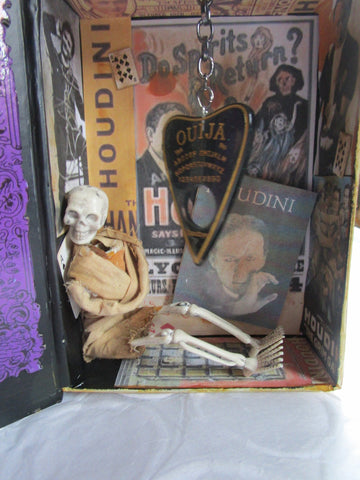 Altered Art - Homage to Harry Houdini Home Decor