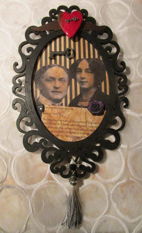 Altered Art - Homage to Harry & Beatrice Houdini
