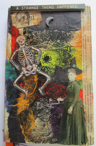 Altered Art - Mixed Media Blank Journal
