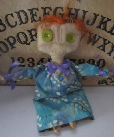 Conjuring Carrie the Handmade Witch Doll