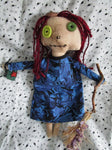 Heather the Handmade Earth Witch Doll