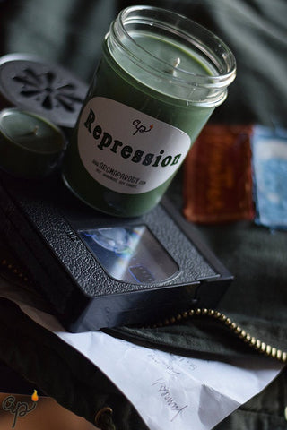 Repression -- 8 oz. Handmade Soy Candle