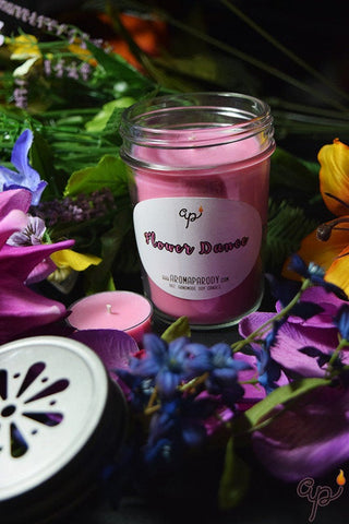 Flower Dance -- 8 oz. Handmade Soy Candle