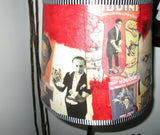 Altered Art - Harry Houdini Lampshade