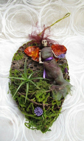 Altered Art - Forest Fairy Skeleton Air Plant