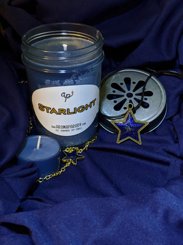 Starlight -- 8 oz. Handmade Soy Candle