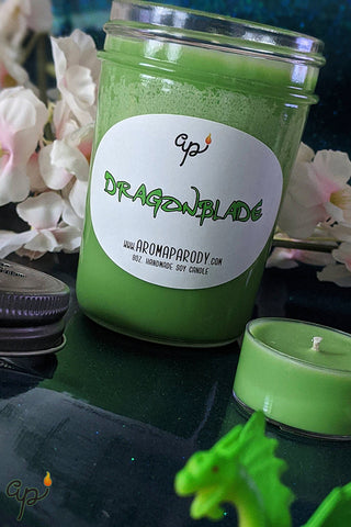 Dragonblade -- 8 oz. Handmade Soy Candle