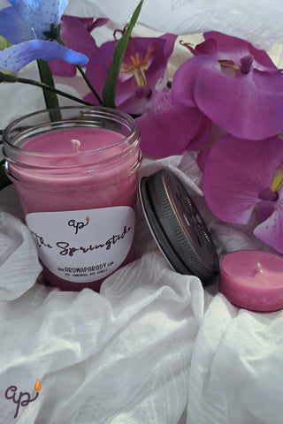 The Springtide -- 8 oz. Handmade Soy Candle