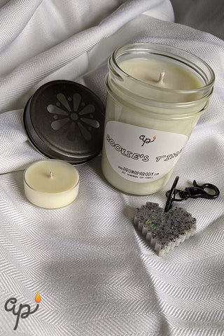 Rookie's Time -- 8 oz. Handmade Soy Candle