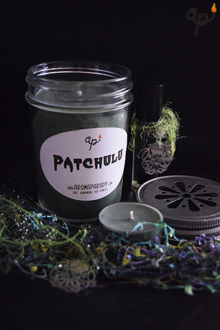 Patchulu -- 8 oz. Handmade Soy Candle