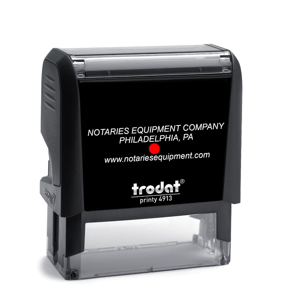 Trodat Self-Inking Stamp Seal