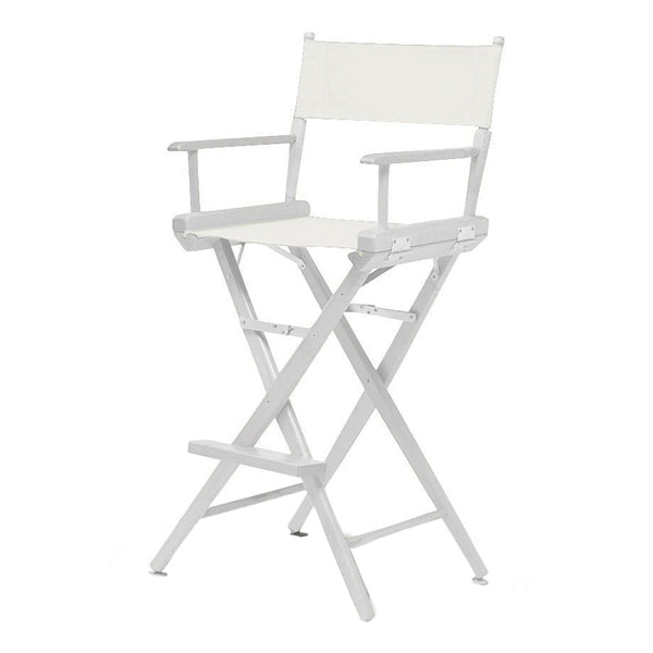 HIGH DIRECTOR CHAIR - WHITE