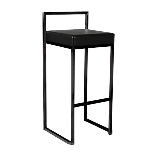 BB REPLICA CUBO HIGH STOOL (FULL BLACK)