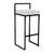 REPLICA CUBO HIGH STOOL (FULL BLACK)