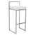 REPLICA CUBO HIGH STOOL (BRASS SLIVER )