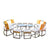 LATT CURVE SOFA SET