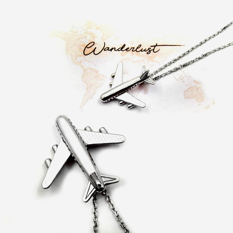 airplane-necklace-for-traveler-wanderluster-silver-925