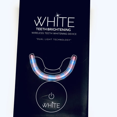 WHITE Teeth Brightening Wireless Teeth Whitening Device