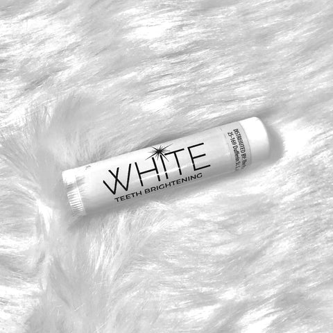 WHITE Teeth Brightening Lip Balm