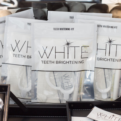 WHITE Teeth Brightening Whitening Kit : Wholesale