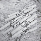 WHITE Teeth Brightening Peroxide Free Whitening Gel Pen
