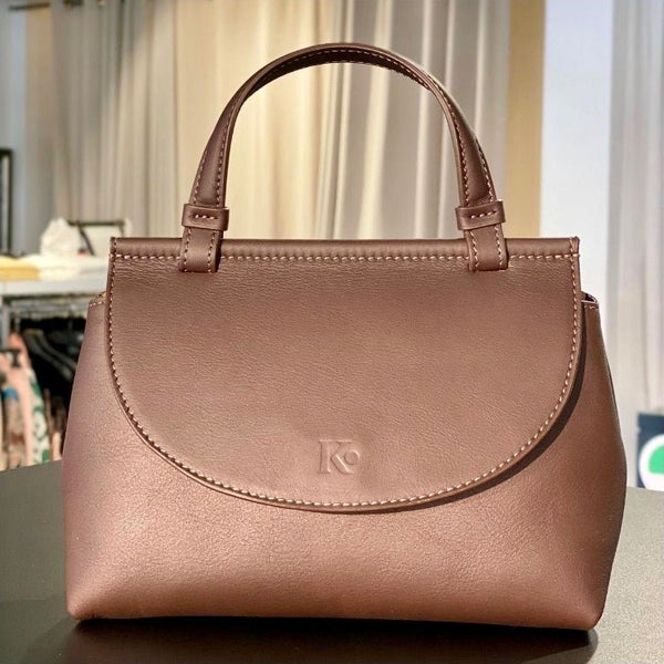 Klein luxe crossbody tasje design Meggy K Munich